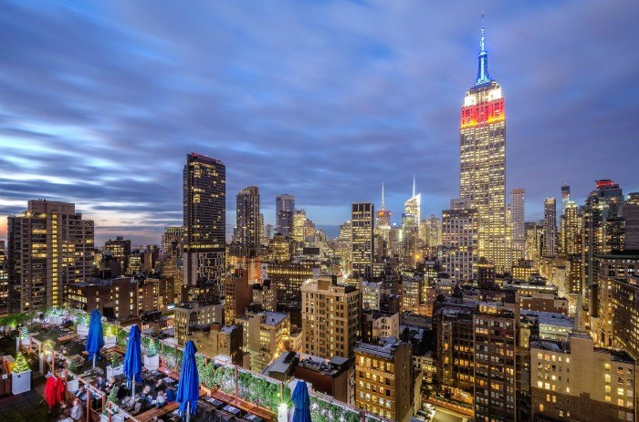 10 Restaurants With Rooftop Dining In New York