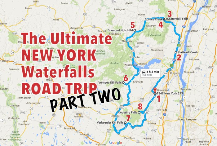 The Ultimate New York Waterfalls Road Trip - Part Two on