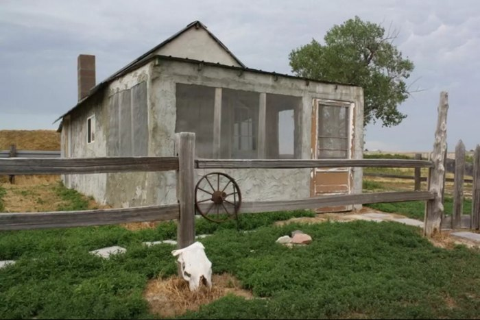 Badlands 1880 Homestead