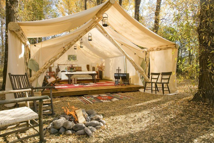 15 Amazing Luxury 'Glamping' Camping Destination In America