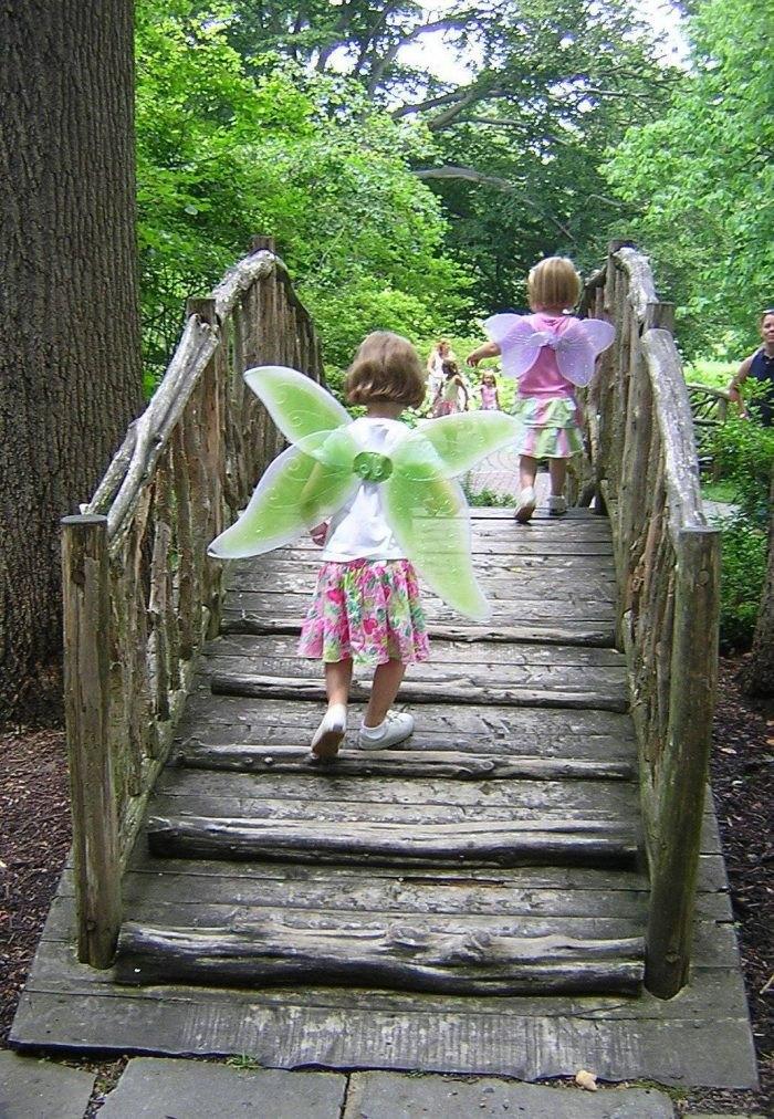 Winterthur Troll Bridge Enchanted Woods