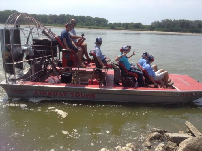 Nebraska Airboat Tours Are Exciting River Adventures