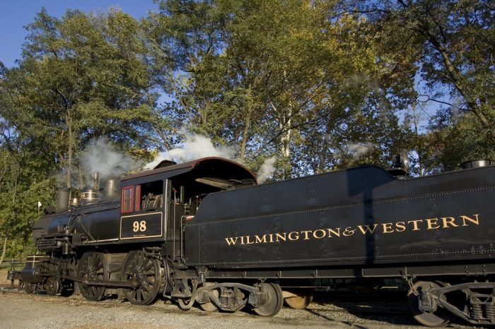 Wilmington & Western Railroad train Delaware