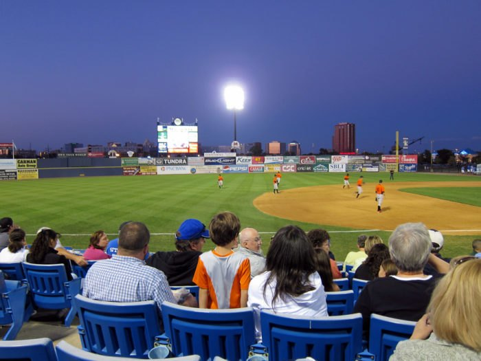 Wilmington Blue Rocks game