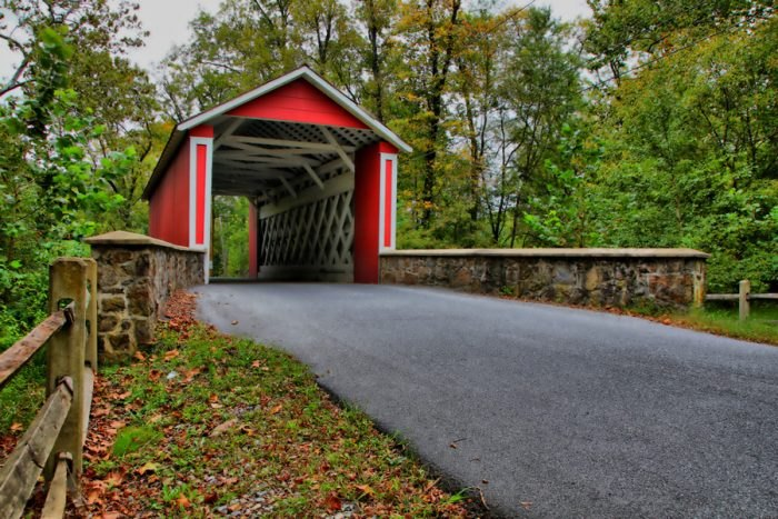 Ashland Covered Bridge Delaware