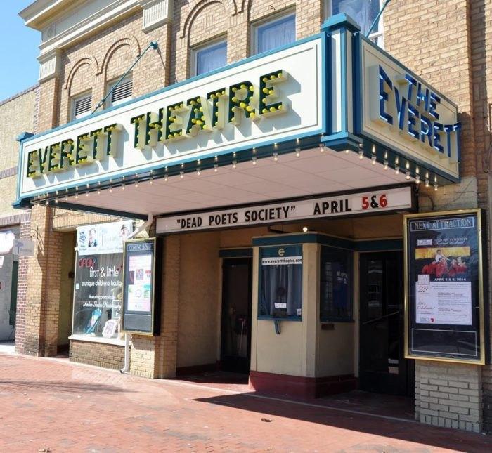Everett Theatre exterior