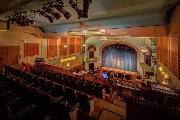 Everett Theatre interior