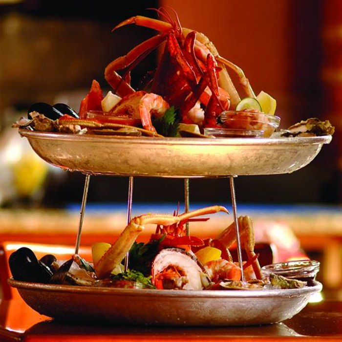 Harry's Seafood Grill tower