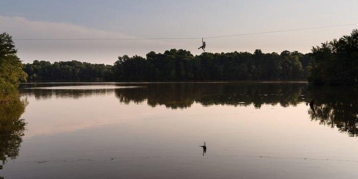 Lums Pond Zip Line