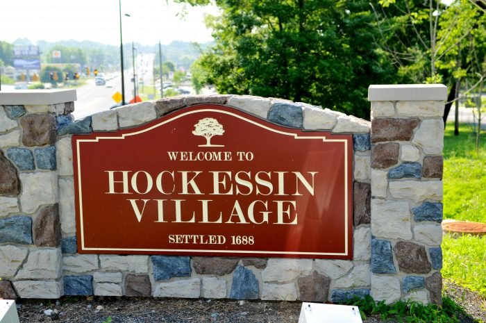 Hockessin Village sign