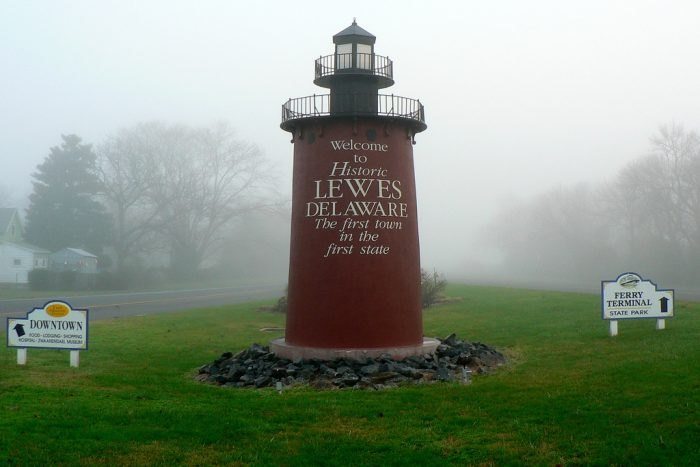 Lewes, Delaware lighthouse