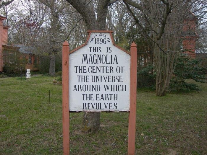 Magnolia Delaware Sign
