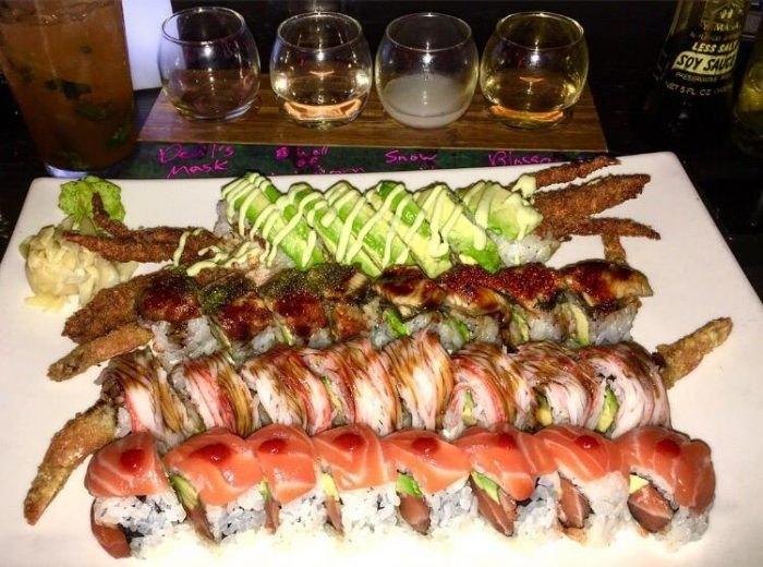 Stingray sushi