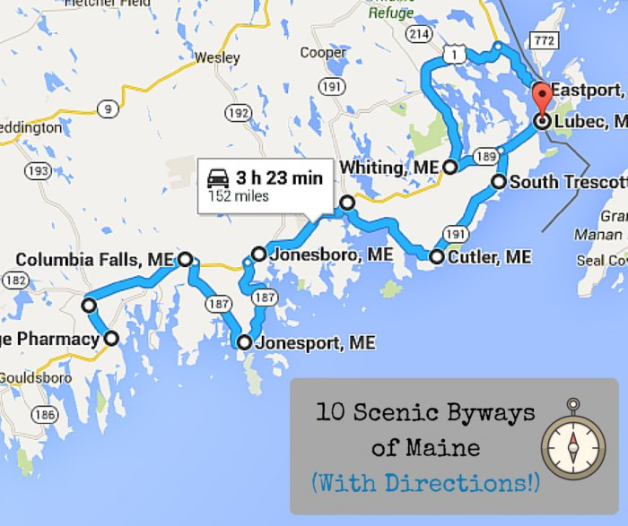 10 Beautiful Byways In Maine Perfect for a Scenic Drive