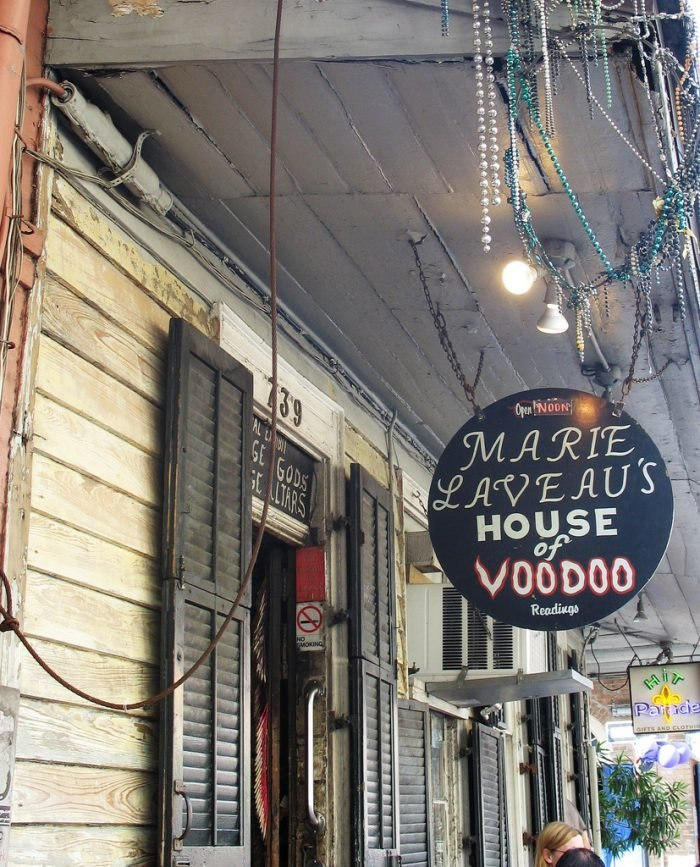 Marie Laveau's House In New Orleans