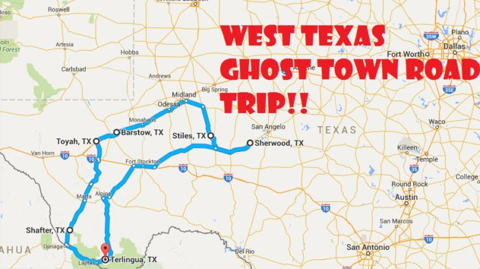 A Scary Road Trip Through 6 Texas Ghost Towns