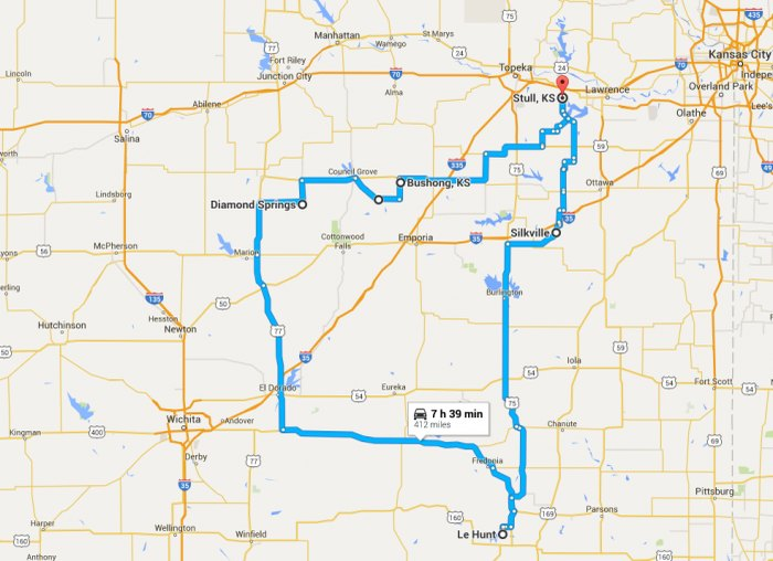 Everyone Should Take This Kansas Ghost Town Road Trip on