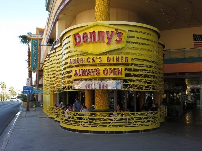 Downtown Vegas Denny's Wedding Adventure
