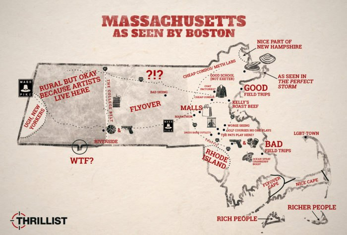 Map Of England Joke.5 Hilarious Maps Of Massachusetts