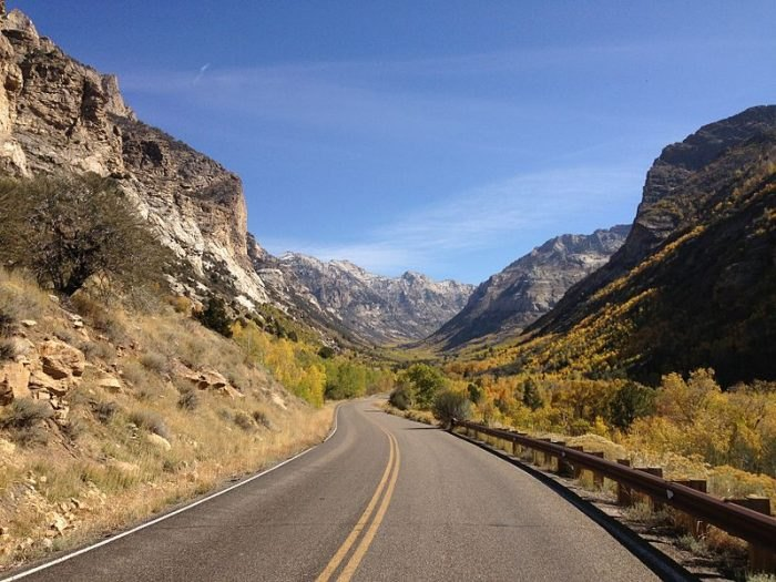 Lamoille Canyon Scenic Byway