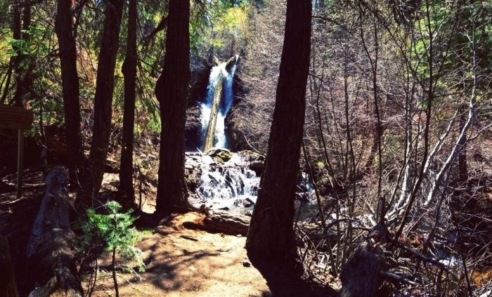 Reno hidden waterfalls