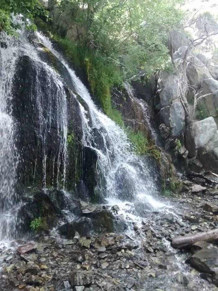 Carson City hidden waterfalls