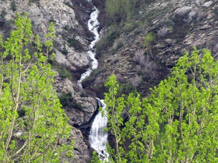 lamoille canyon hidden waterfalls