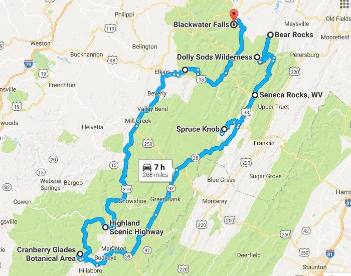 Take This Natural Wonders Road Trip In West Virginia
