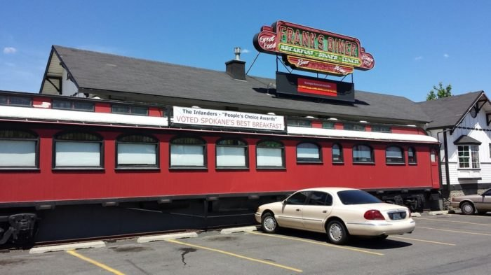 Visit The Train Car Restaurant In Spokane Washington