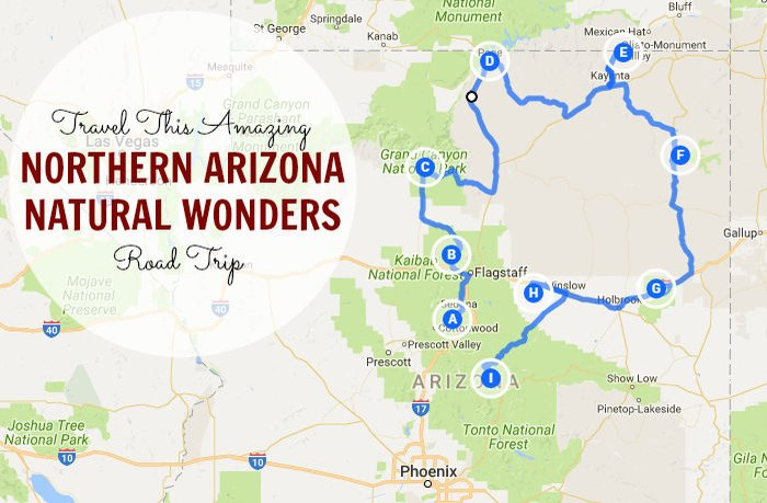 Travel This Amazing Northern Arizona Natural Wonders Road ...