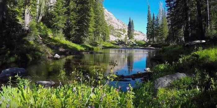Idaho Sawtooth Mountains