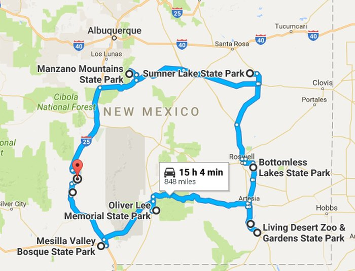 An Amazing Road Trip Through 9 New Mexico State Parks