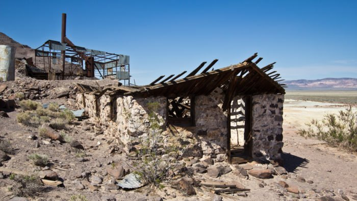 Nevada abandoned places road trip