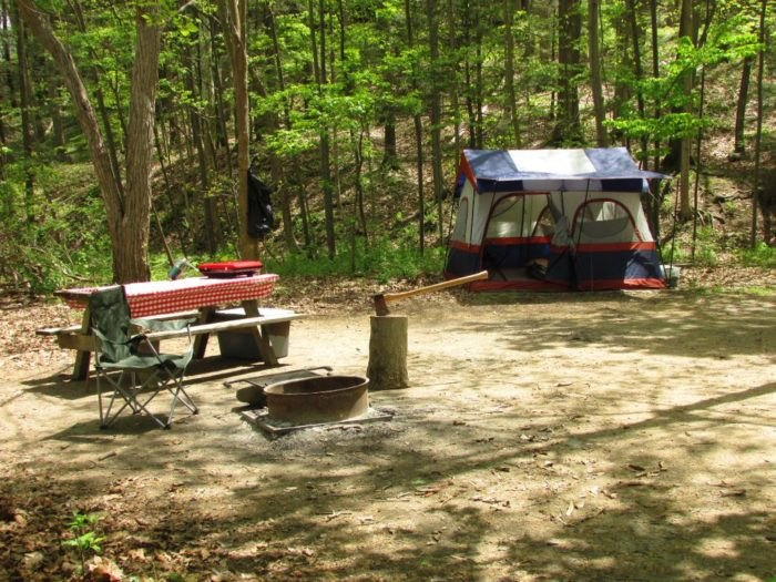 This Magical Waterfall Campground In New York Unforgettable