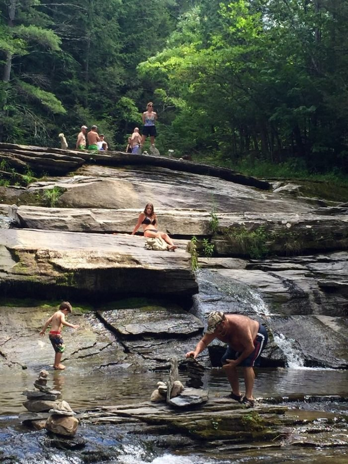 5 Amazing Waterfall Swimming Holes In Massachusetts