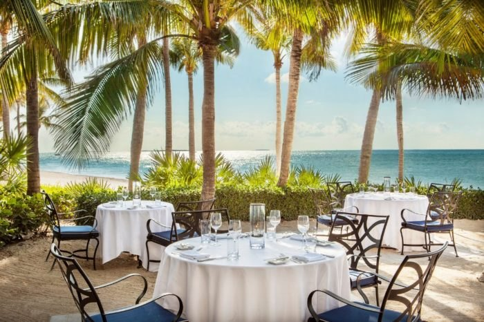 This Romantic Florida Restaurant Sits On A Private Island