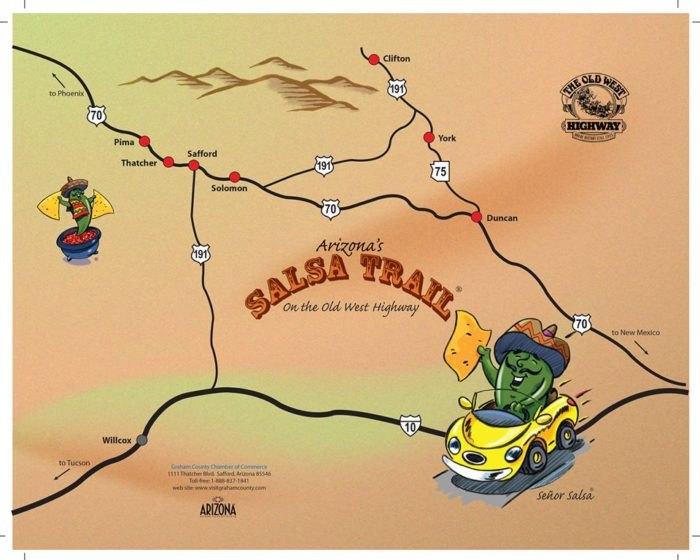 You Need To Visit This Salsa Trail In Arizona Safford Arizona Map on greasewood arizona map, black canyon city arizona map, jasper arizona map, klondyke arizona map, tonalea arizona map, wilson arizona map, mingus mountain arizona map, st. johns arizona map, jackson arizona map, cibola arizona map, wittmann arizona map, dragoon arizona map, santa fe arizona map, las cruces arizona map, mescal arizona map, humboldt arizona map, cherry arizona map, el dorado arizona map, roswell arizona map, dudleyville arizona map,