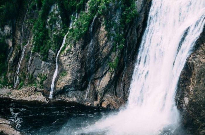 Palisades Creek Trail waterfall - Idaho
