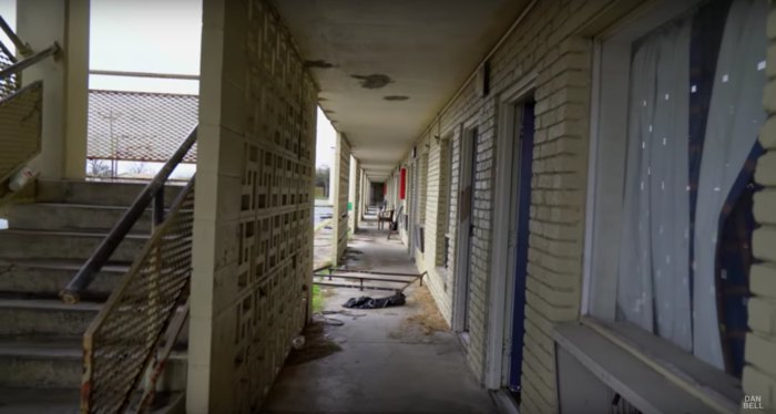 Chilling Possible Abandoned Murder Motel Footage
