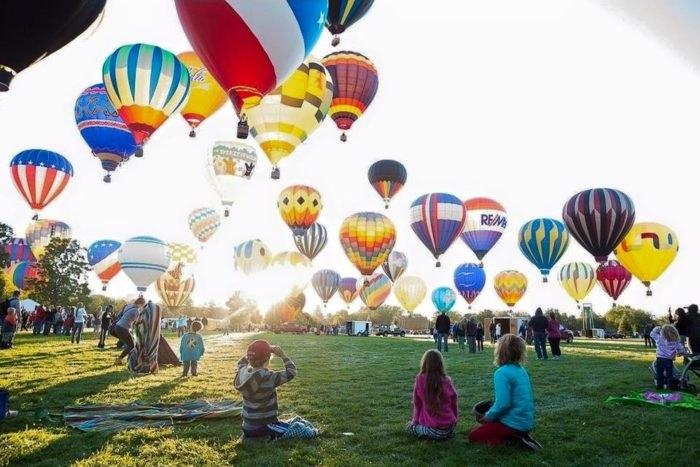 Spirit of Boise Balloon Classic - Idaho Bucket List