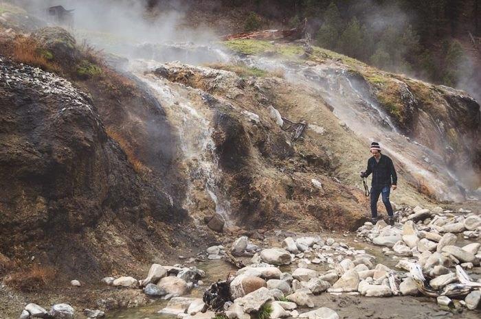 Idaho hot springs trail