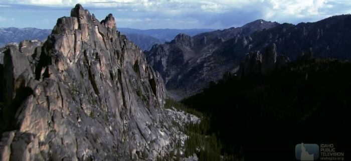 Most isolated spot in Idaho: the Frank Church Wilderness
