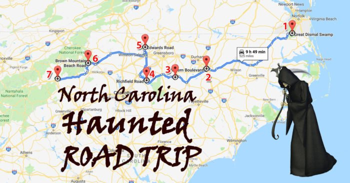 A Road Trip To The Most Haunted Places In North Carolina