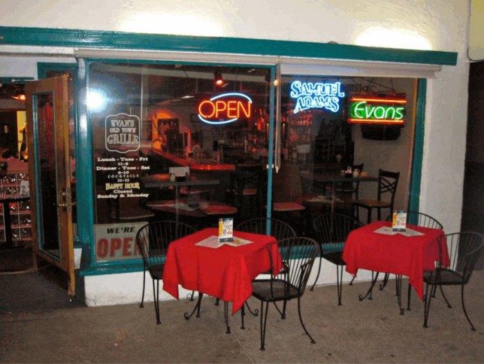Evan's Old Town Grill, Boulder City, NV