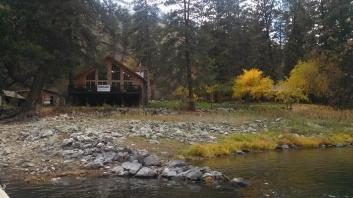 Salmon River Lodge Resort: a rustic, secluded Idaho resort