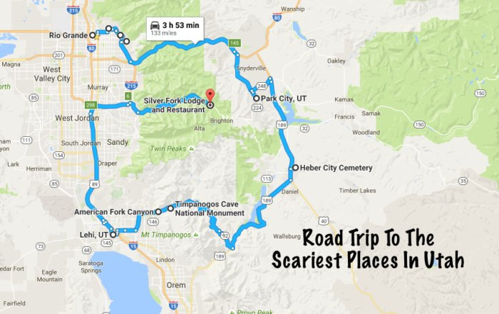 This Haunted Road Trip Will Lead You To The Scariest Places In Utah
