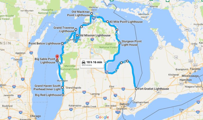 See Some Of Michigan's Most Historic And Scenic Lighthouses ... Thumb Michigan Road Maps on franklin county va map, michigan national parks list, michigan thumb area, michigan thumb tourism, wallace in upper peninsula map, michigan native americans, isabella county interactive map, michigan thumb topography, michigan highway 231, michigan prison list, shore to shore trail map, michigan is bad, michigan icon, michigan historical sites, macomb county mi map, michigan coastal towns, michigan trail maps, michigan bear population 2011, dryden mi map, michigan fishing maps,