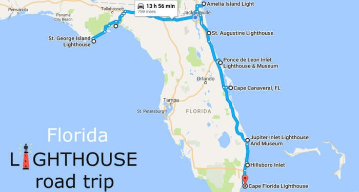 Everyone Should Take This Florida Lighthouse Road Trip on tiger woods house jupiter florida, downtown jupiter florida, ponce de leon inlet lighthouse florida, jupiter beach lighthouse, things to do in miami florida, lighthouse in jupiter florida, jupiter lighthouse wedding, jupiter lighthouse at night, the square grouper jupiter florida, rapids water park florida, hillsboro inlet lighthouse florida, lighthouses on east coast florida, jupiter lighthouse art, the gardens mall florida, lighthouses of florida, jupiter beach florida, lighthouse park jupiter florida, dubois park jupiter florida, pga national florida,