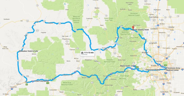 The Haunted Colorado Road Trip That Will Lead You To The ...