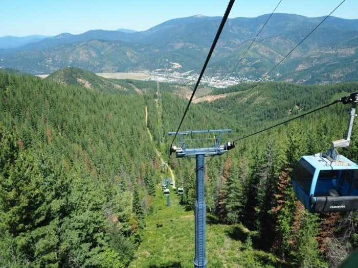Kellogg, Idaho - Silver Mountain Resort Gondola - Things to do in Idaho